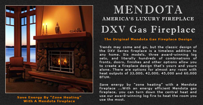 Mendota DXV Gas Fireplaces Adams Stove Company, Wood Stoves In ...