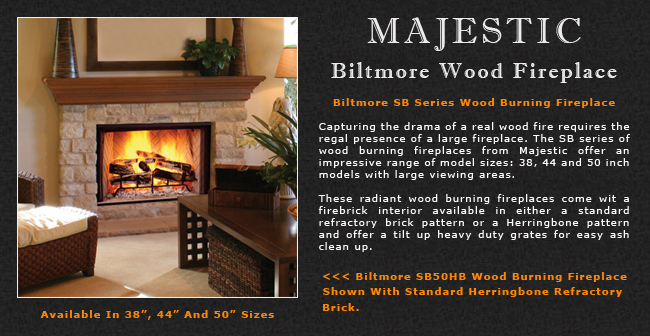 Majestic Biltmore Wood Fireplace Adams Stove Company Wood Stoves In