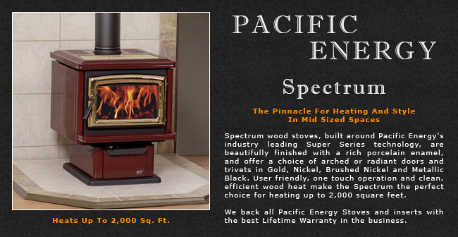 Pacific Energy Spectrum Wood Stove Adams Stove Company, Wood Stoves In  Western Mass, Pellet Stoves In Massachusetts, Wood Stoves & Pellet Stoves  In The ... - Pacific Energy Spectrum Wood Stove Adams Stove Company, Wood