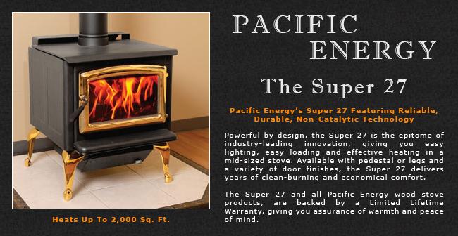 Pacific Energy Super 27 Wood Stove Adams Stove Company